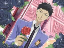 // *Bows and then stands straight and smiles, then hands her a rose.* Best Wishes on your birthday!