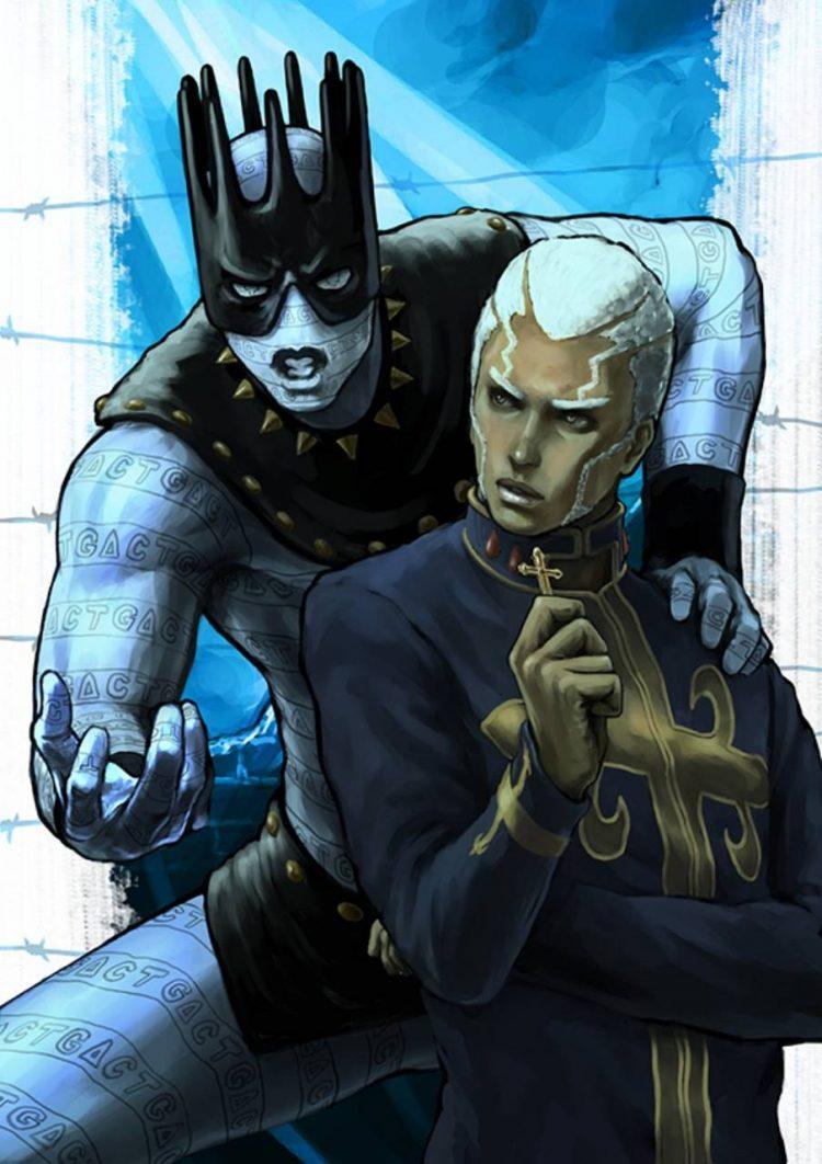 )) Enter Enrico and the Pillar Men (( **Enrico was another fallen priest who happen to bring some do