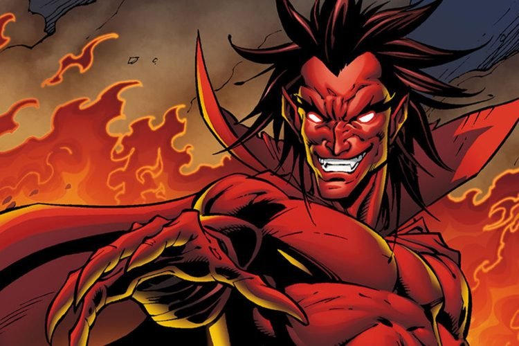 *Mephisto does his best to contain Helena's full destructive force from crushing the rest of t
