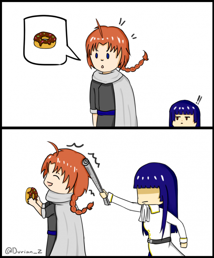 Maybe I should have a donut too! @childofshinigami Happy Birthday siblings of mine and anyone born t