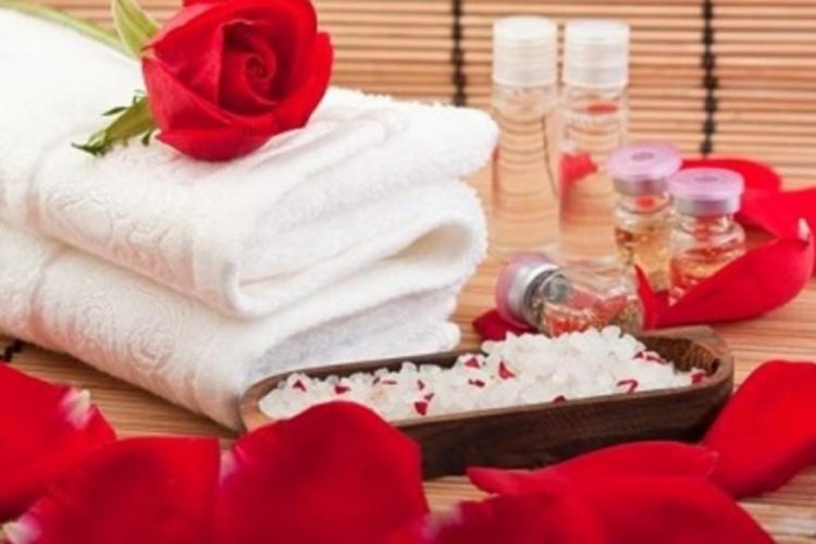 Treat yourself or a loved one on Valentine's Day with exquisite massages, incredible hot springs a