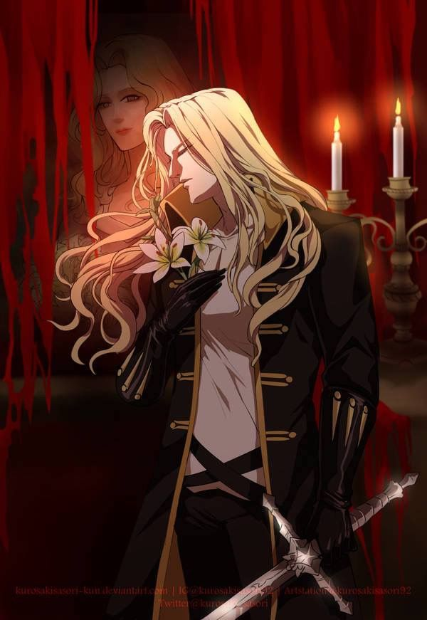 *Prince Alucard and his fellow vampires and other creatures that had taken shelter at Sanguinarium S