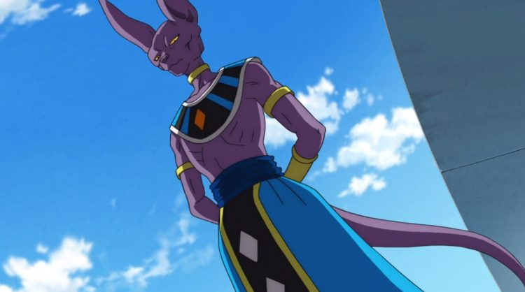 *Previously, Lord Beerus had frozen all movement and things in Academy City. After he became aware o