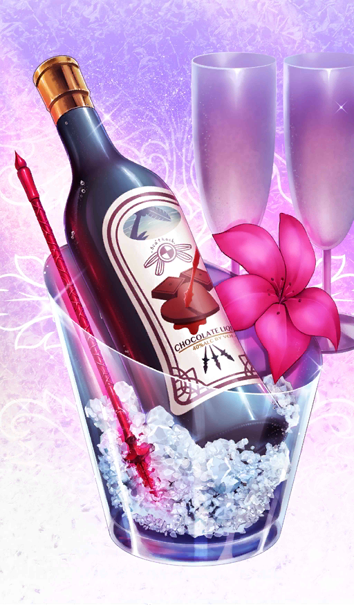 My lady for tonight I have prepared a drink for us to enjoy this Valentine's night @kandace th