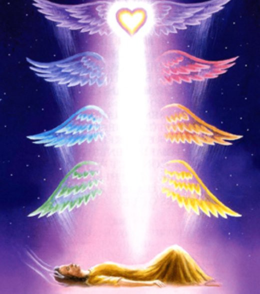 *Helena's cosmic essence entered her earthly body. Helena's eyes were filled with joy. S