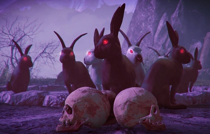 *The shadow warrior rabbits arrive to help in the battle.* Shadow-Warrior-2-Easter-DLC
