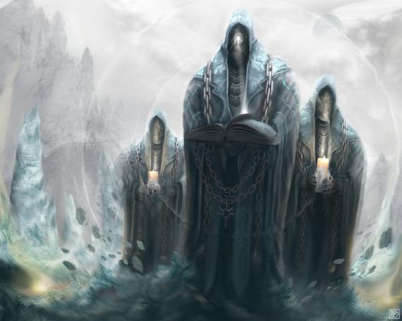 Head Occultists: *Further away from the area of Satou Arcanum, the head occultists that had called f