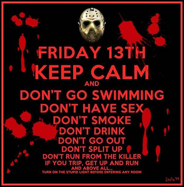 // Happy Friday the 13th! 13friday10