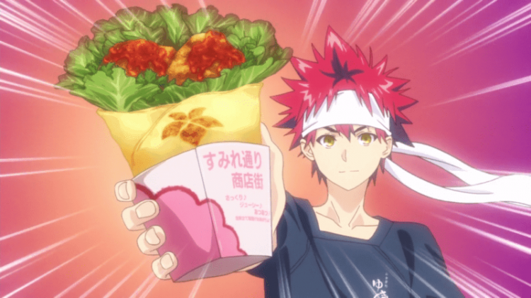 *Arrives at Sato no Kokoro and gets her son to make some quick wrap up food for those coming in to l