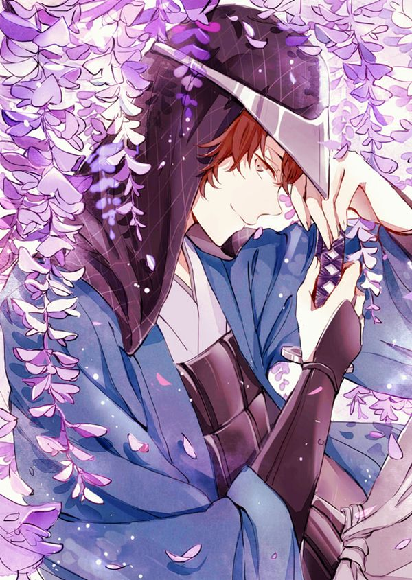 *Enjoys a quiet day at Sakura Lane as he watches the lovers and remembers many great memories from h