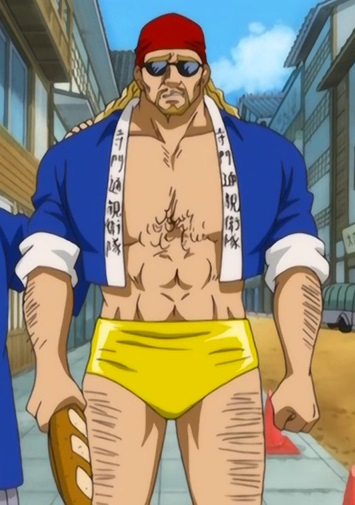 *Heads back to work at Yorozuya after getting his french bread at the SugarSweet Bakery.* Time to cl