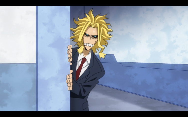 *Even though Yagi had his permission slip to leave the medical center. The staff there wasn't