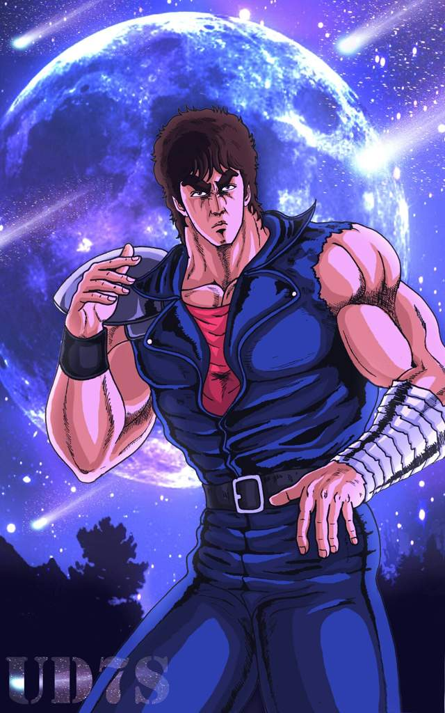 *As he stood outside ready to leave Sugarview Medical Center, he caught glimpse of Raoh. He noticed