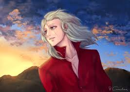 *He walks up behind him.* So, this is what the daylight looks and feels like! It's been so lon