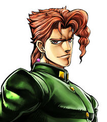 *Kakyoin was feeling full of energy. He was happy to be able to see again. The sky was clear as the