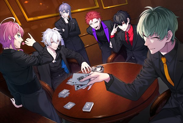 *Spending some time at Unholy Aces Casino with family. Zevia, Gin dad, uncle Soji, brother Soma, me
