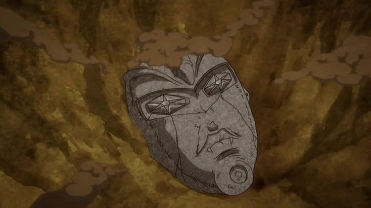 *that day when he found this mysterious mask behind his home garden, he decide to do some research a
