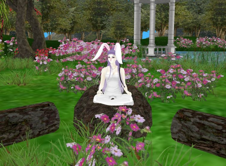 *It was a beautiful day when Reisen would find herself in the woodlands of Lunaris and as she had ar