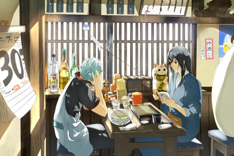 @futurezurajoui *Stops in to Otose's with brother Zura for a bite and some drinks.* x41ffzst3r