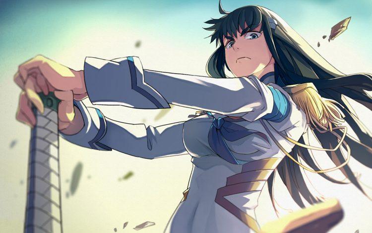 *Sis Satsuki, master of the school disciplinary unit.* @junketsu 7317280-9132748555-Zz0Ee