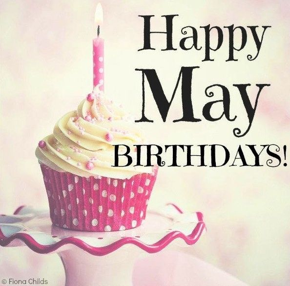Happy Birthday to everyone born in the month of May, with best wishes from the SugarSweet Bakery sta