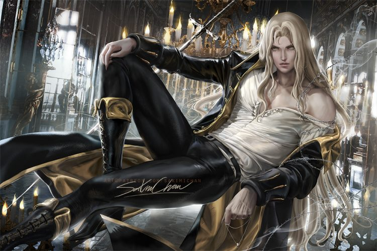 I am Adrian Tepes. Known to the Wallachians as Alucard… son of Vlad Dracula Tepes. I've