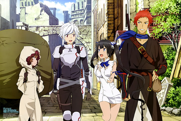 Is it wrong to try to pick up girls in a dungeon?: Welcome to a fantasy world of magic and monsters.