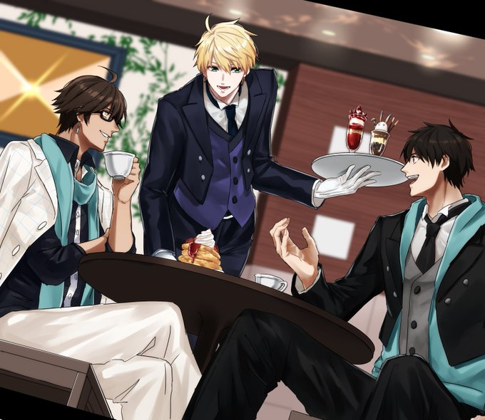 *There was some time before Arash and Dieguito had to start their shift as butlers at the bakery. Ki