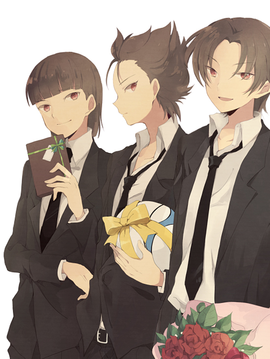 @skybluedemonflame TripletDevils: Happy Mother's Day mommy Kaname! Furuya.Triplets.full.137554