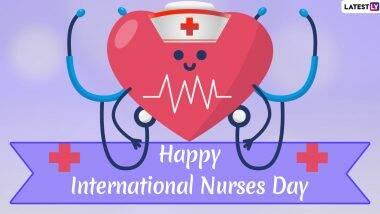 *Yukiko puts up a banner in the medical center honoring her hard working nurses.* Happy Internationa