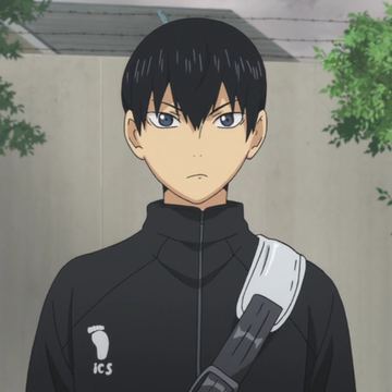 *He was temporarily separated from Shoyo as he was given orientation and a tour with a completely di