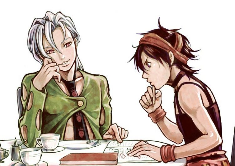 *Returns to the restaurant after school and is rigorously tutored by Fugo. Beware, getting an answer