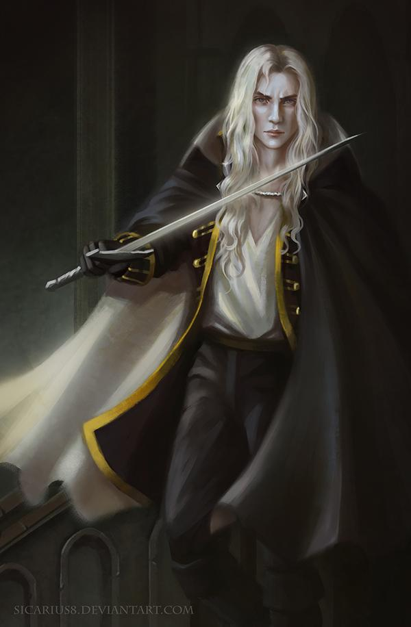 *Alucard searched the premises. He continued to feel as if someone or something was watching him. He