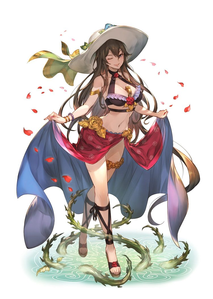 *She stops over to admire them.* And what do we have here? Such beautiful fiery spirits. *She giggle