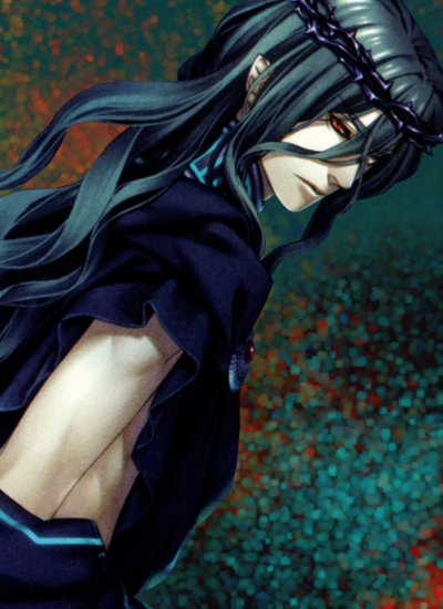 Hadesu: *Hadesu's essence separates himself from Ukyo's body and resumes his work in the