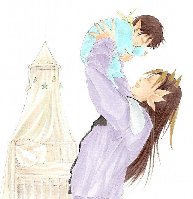 Happy Father's Day Yomi dad! @blindking *Holds a photo of his father holding him up in the air