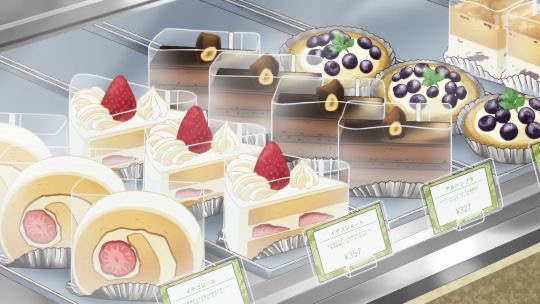 *Observing the delicious treats on display* Which should I choose? Hmmm… 99A63F67-6F6E-4A3B-AD