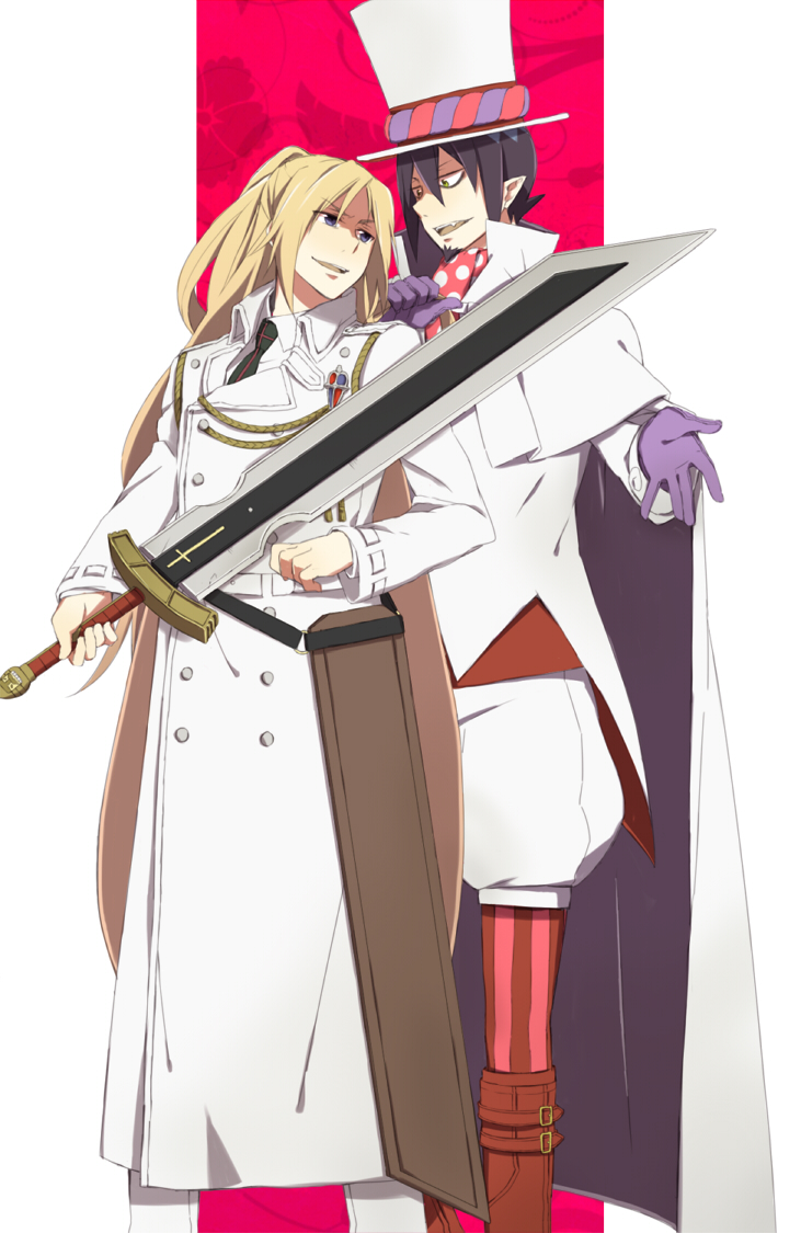 *Mephy escorts Arthur to his long pink limo.* I gave you back your sword but don't use it on m