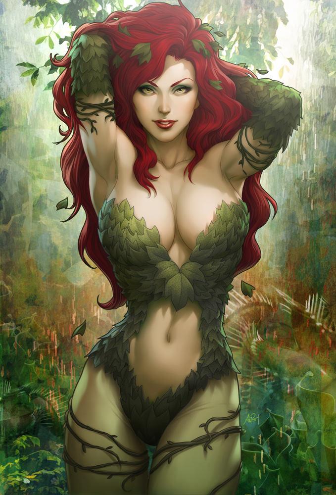 Comic-book-girls-Poison-Ivy