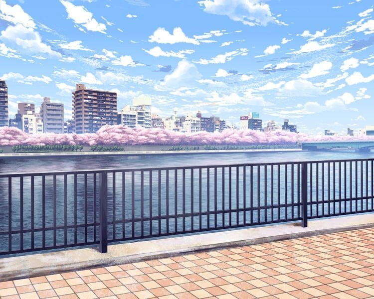 *Jean follows Ukyo's instructions and walks around and takes pictures of sceneries that catches he