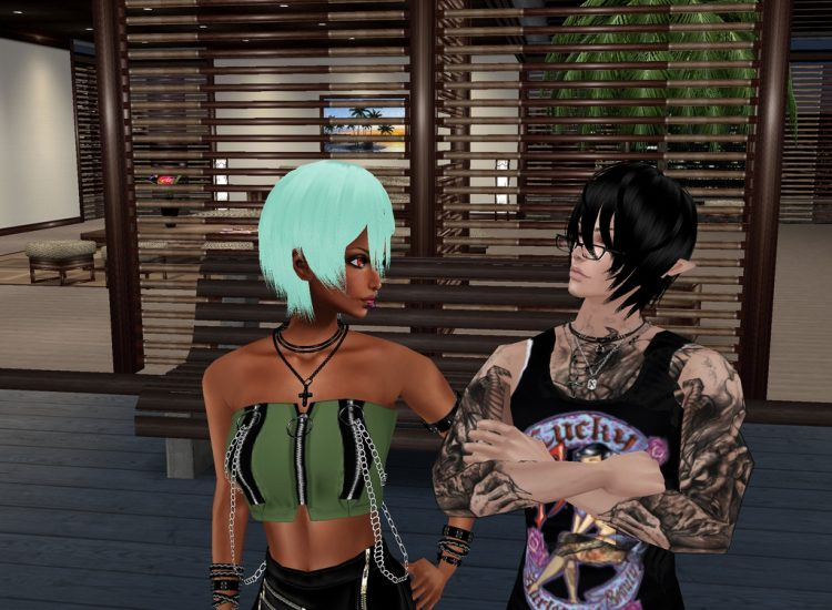 Guess what sexy thang I ran into at IMVU ;) @littlehiruma Thanks for keeping me company. Snap_vPpldD