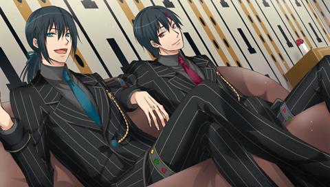 *Twins chilling out at the ballroom.* Twins_diamond