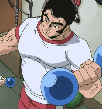 *enjoys a nice work out at the dojo's gym.* cKR9QiR