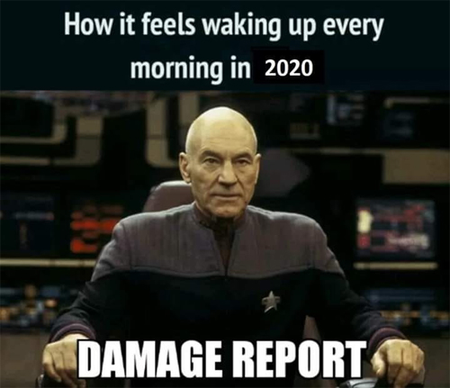 +_+ Is there anyone still working from the news studio? Hit me with the damage reports for 2020!dama
