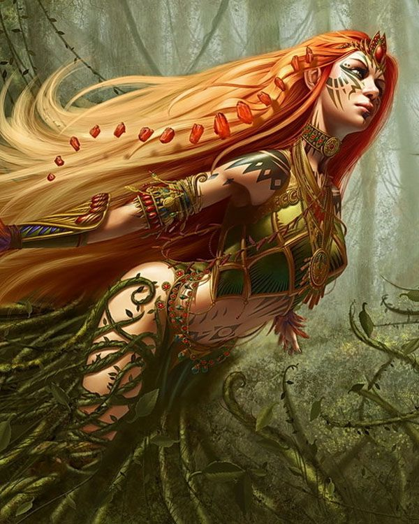 *Hikari returned to the forest where her fairy tribe resides. It was time to replenish herself and e