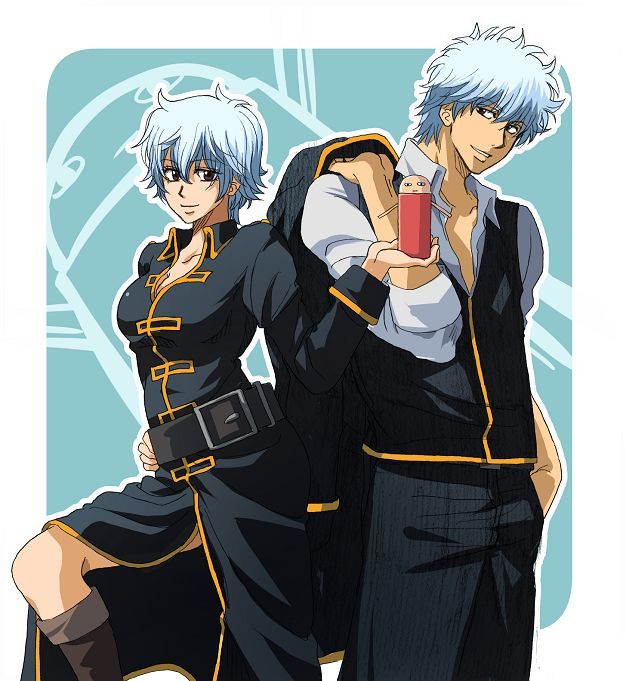 @shiroyassha *Ginko and big bro Gin working with the Shinsengumi when they need to get the down and