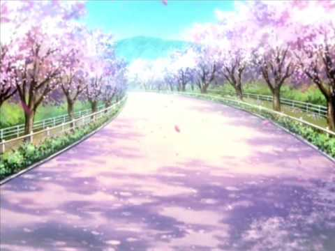 *The path out of Sakura Lane was as beautiful as the road that lead into it. A serene path filled wi