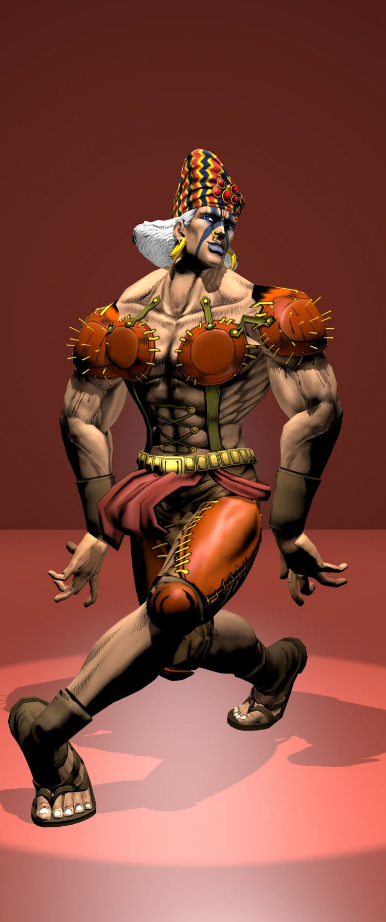 *While Kars was exploring the club, Esidisi was already wowwing the crowds with his peculiar dance m