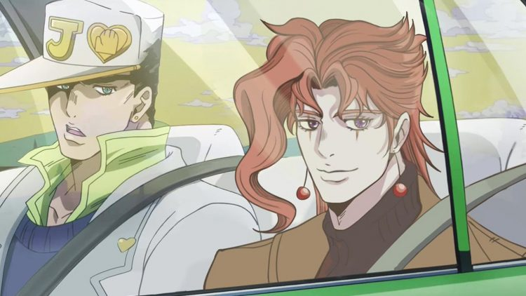 *Jotaro and Kakyoin drive to the bakery to pick up Joseph and Josuke.* I can't resist! I&#8217