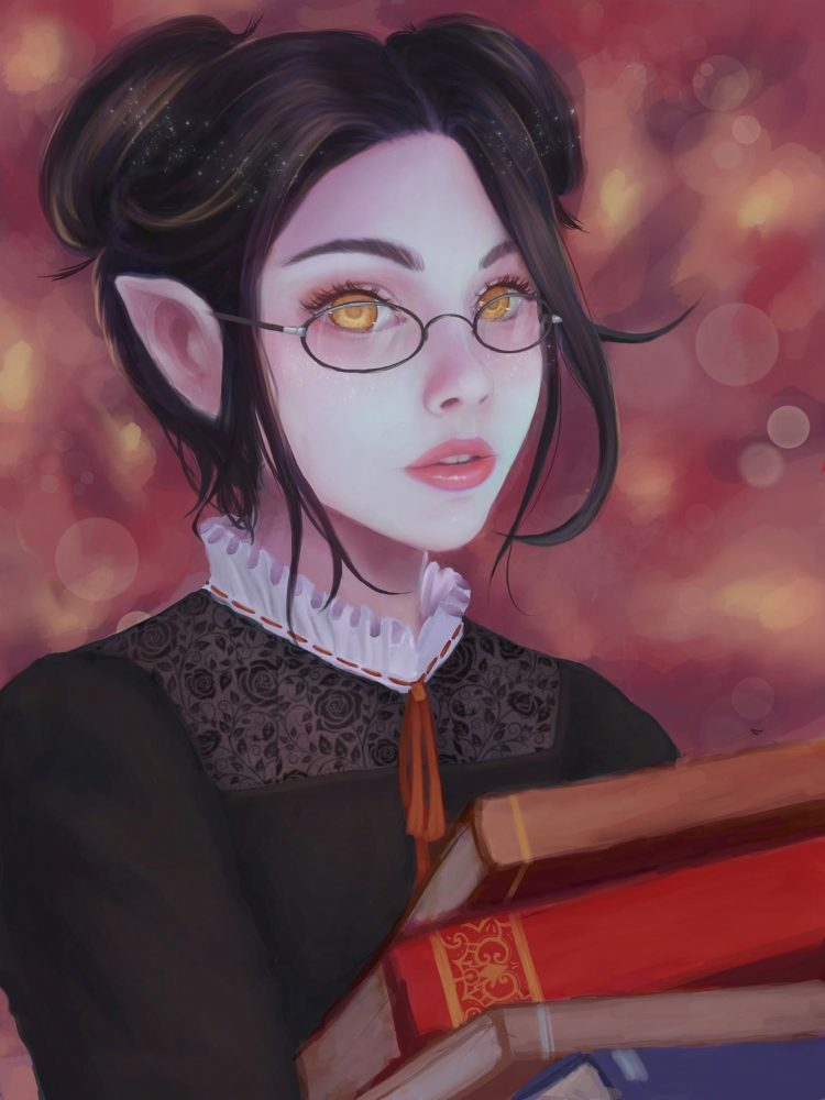*Yukiko returns a few books she had borrowed before heading off to work at the medical center.* I st